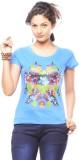 Trendy Girlz Graphic Print Women's Round...