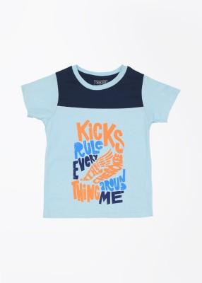 Cherokee Kids Printed Boy's Round Neck T-Shirt