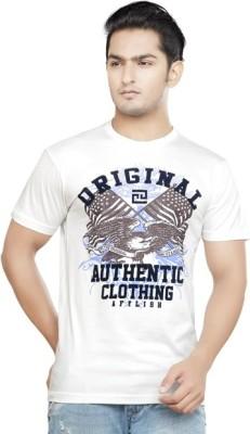Afylish Printed Men's Round Neck T-Shirt
