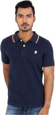 Killer Solid Men's Polo Neck Dark Blue T-Shirt