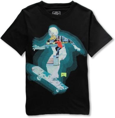 Nike Kids Printed Boy,s Round Neck T-Shirt