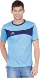 Canyons Solid Men's Round Neck Light Blu...