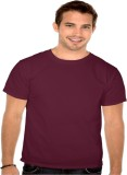 Officers Choice Solid Men's Round Neck B...