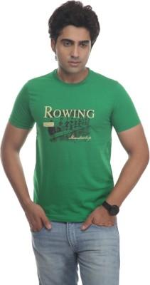 TT Printed Men's Round Neck Reversible T-Shirt