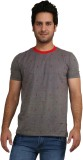 Rags Style Printed Men's Round Neck Grey...