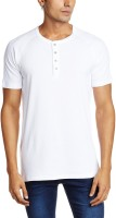 Levis Men's Wear - Levi's Solid Men's Henley White T-Shirt