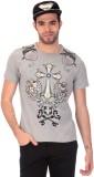 Saiints Printed Men's Round Neck Grey T-...