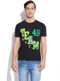 Silly People Graphic Print Men's Round N...
