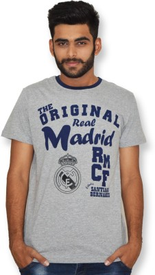 Real Madrid C.F. Printed Men's Round Neck T-Shirt