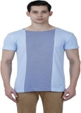 Baba Rancho Solid Men's Round Neck Blue ...