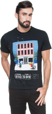 Zovi Printed Men's Round Neck T-Shirt