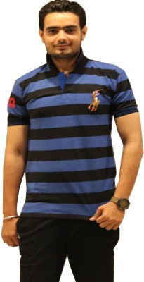 GOPAL EMPORIUM Solid Men's Polo Neck Multicolor T-Shirt