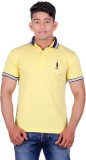 United Rugby Polo Solid Men's Polo Neck ...