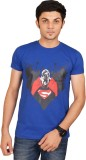 Swag Theory Printed Men's Round Neck Blu...
