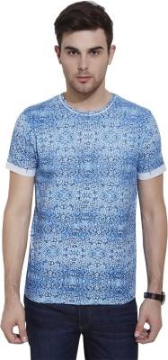 Slub By INMARK Floral Print Men's Round Neck Multicolor T-Shirt