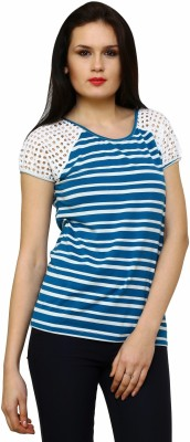 Rena Love Striped Women's Round Neck T-Shirt