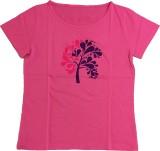 Dovekie Printed Women's Round Neck Pink ...