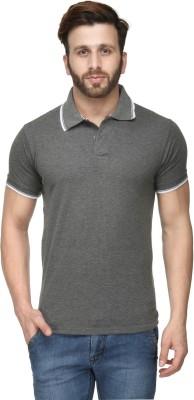 Scott International Solid Men's Polo Grey T-Shirt