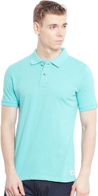Jogur Solid Men's Polo Green T-Shirt