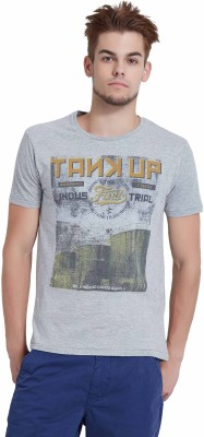 Breakbounce Printed Men's Round Neck T-Shirt