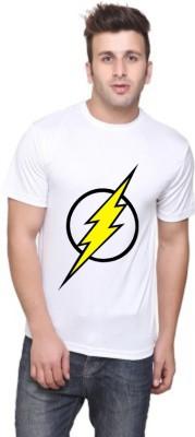 ANDSHAND Printed Men,s Round Neck White T-Shirt
