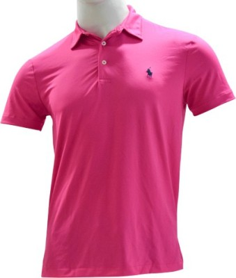 Ralph Lauren Solid Men,s, Boy's Flap Collar Neck T-Shirt