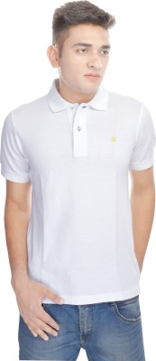 Osspl Solid Men's Polo Neck T-Shirt