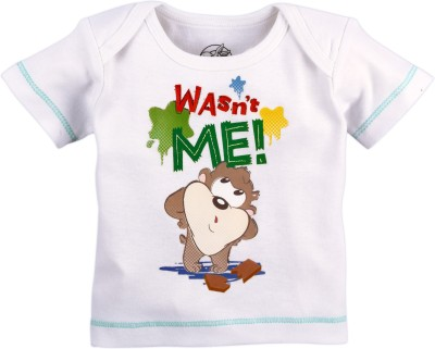 Warner Brothers Printed Baby Boy's Round Neck T-Shirt