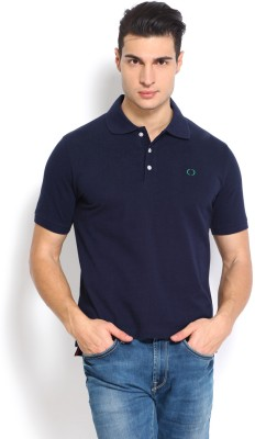 Nord51 Solid Men's Polo Dark Blue T-Shirt