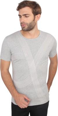 Calvin Klein Solid Men's Round Neck Grey T-Shirt