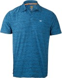 Wildcraft Solid Men's Polo Neck Blue T-S...