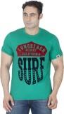 ISHWA Graphic Print Men's Round Neck Lig...