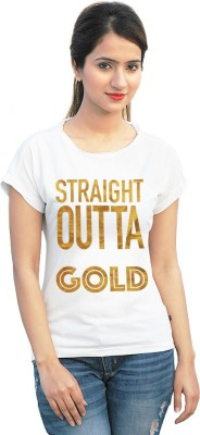 StyleFlies Printed Women's Fashion Neck T-Shirt