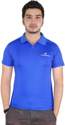 Jbn Creation Solid Men's Polo Neck T-Shirt