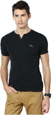 Riverstone Solid Men,s Henley T-Shirt