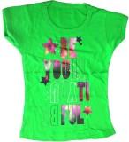 Cool Baby Girls Printed (Green)