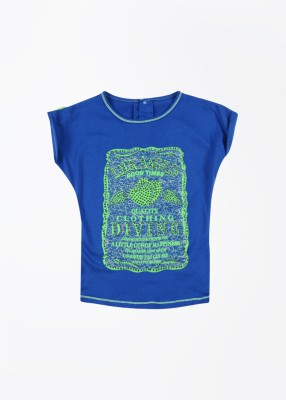 Little Kangaroos Printed Round Neck T-Shirt