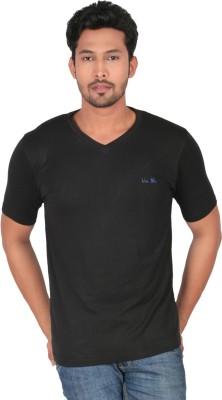 Uniblu Solid Men's V-neck T-Shirt