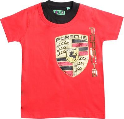 1st Attitude Graphic Print Baby Boy's Round Neck T-Shirt