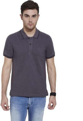 Urban Nomad By INMARK Solid Men's Polo Neck Grey T-Shirt