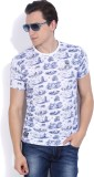 Pepe Jeans Printed Men's Round Neck Whit...