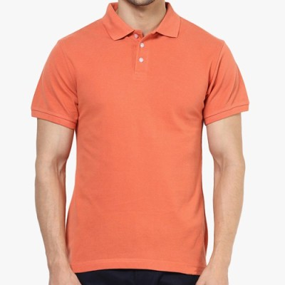 Kangoroo Aussie Solid Men's Polo Neck T-Shirt