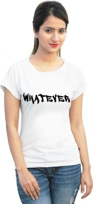 StyleFlies Printed Girl's Fashion Neck T-Shirt