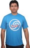 Fitsoul Solid Men's Round Neck Blue T-Sh...