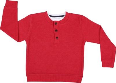 Next Steps Solid Boy's Henley T-Shirt