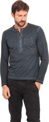 Smokestack Solid Men's V-neck T-Shirt