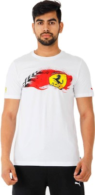 Puma Graphic Print Men's Round Neck T-Shirt