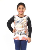 Pinky Ponky Girls Graphic Print (Black)
