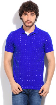 Easies Printed Men's Blue T-Shirt
