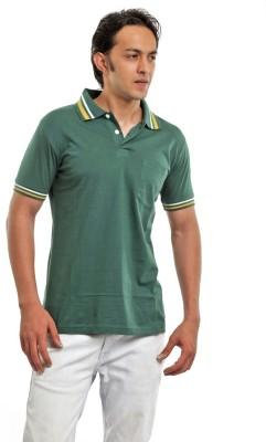 BG69 Solid Men's Polo Dark Green T-Shirt